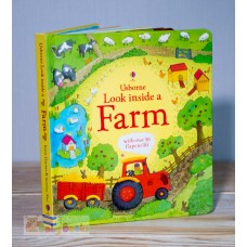 Look Inside Farm (Usborne)