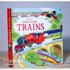Look Inside Trains (Usborne)