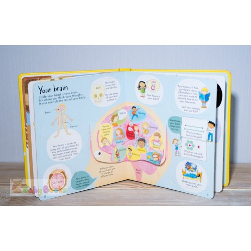 Look inside Your Body (Usborne) - Фото 7