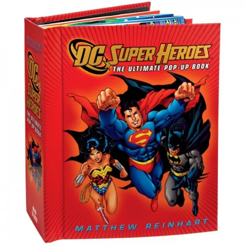 "Попап книга ""DC Super Heroes: The Ultimate Pop-Up Book"""