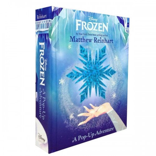 "Поп ап книга ""Frozen: A Pop-Up Adventure"" Метью Рейнхарт"
