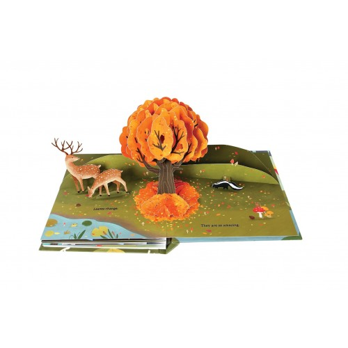 Leaves : An Autumn Pop-Up Book - Фото 3