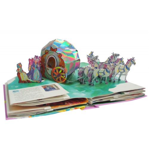 "Купить книгу ""Cinderella: A Pop-Up Fairy Tale"" - Фото 2"