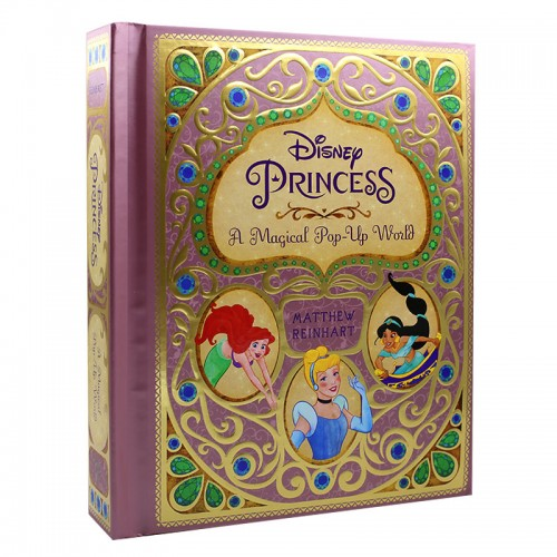 "Поп ап книга ""Disney Princess: A Magical Pop-Up World"""