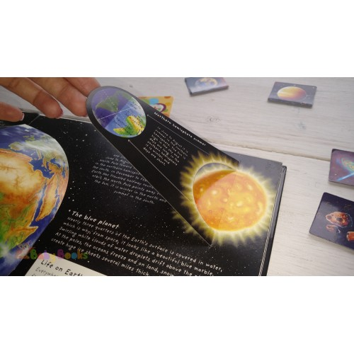 Pop-Up Book Facts: Space: A Star Studded Journey of Discovery - Фото 5