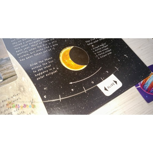 Pop-Up Book Facts: Space: A Star Studded Journey of Discovery - Фото 7