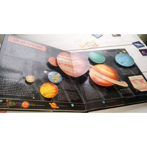 Pop-Up Book Facts: Space: A Star Studded Journey of Discovery - Фото 9