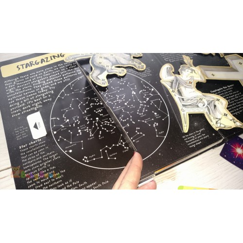 Pop-Up Book Facts: Space: A Star Studded Journey of Discovery - Фото 11